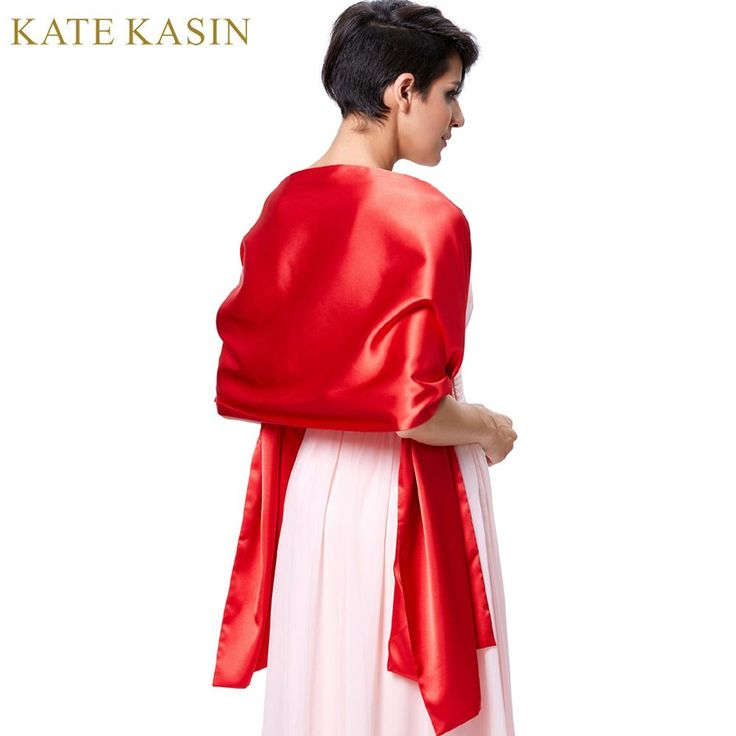 Bridal Wraps For Wedding Party Shrug Cape Bolero Evening Wrap Red White Cover Shoulder Satin Bridal Shawl Scarf