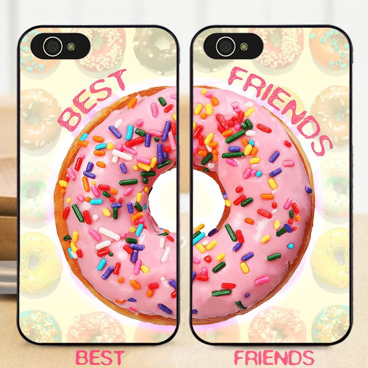 BFF Donuts Doughnut Best Friends Hard Case Cover for iPhone 7 6S 6 Plus 5S 5 5C | Cell Phones & Accessories, Cell Phone Accessories, Cases, Covers & Skins | eBay!