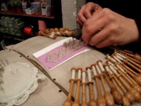 Bobbin Lace - I could see me having a tangled mess...
