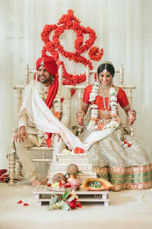 Loree and Biren's stunning South Asian wedding | Image by Brandon Werth Photography