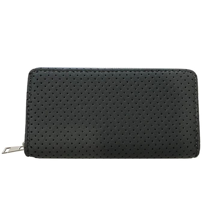 Punch | Neoprene Wallet in Charcoal Grey