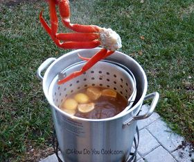 use this kind of cooker to fix shrimp boil in enjoy