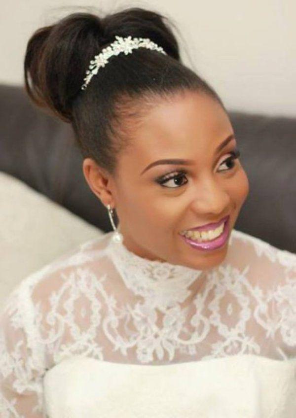 Brauthaarfrisuren Fr Afro Haar Trgerin 13 Hairstyles Community