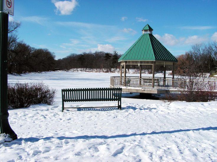 Mill Pond in Winter - Milton, Ontario