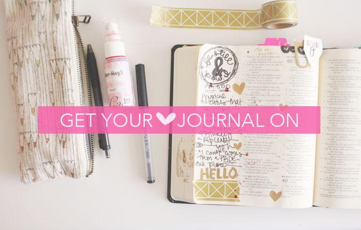 JOurnaling Bible | BE Still Shanna Noel