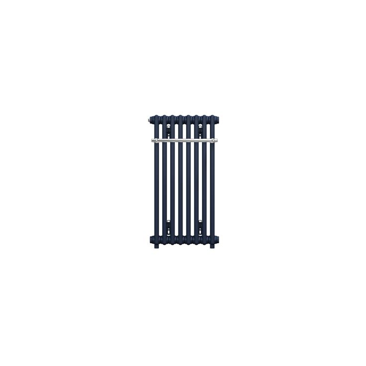 CT 75-37 - Classic towel radiator range - Bathroom & Kitchen Radiators - Bisque Prussian Blue £432 Valve Set F, chrome with chrome regulator £116