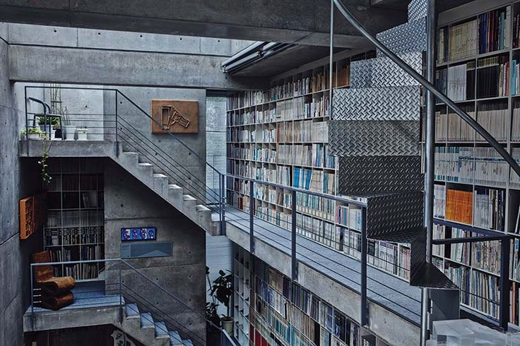 PORT magazine visited the acclaimed architect's osaka studio, which he originally designed as a home for a young family.