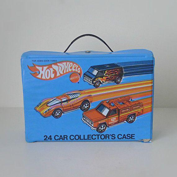 Vintage Toys 1970 | Vintage Hot Wheels Car Carrying Case, 1970s Mattel - toy storage, kids ...