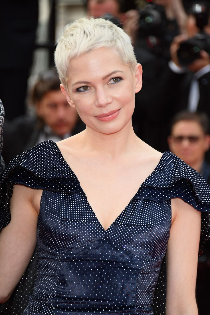 La coupe pixie et platine de Michelle Williams au Festival de Cannes 2017