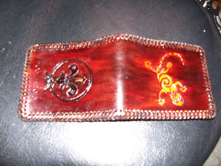 Wallet for scout leader.