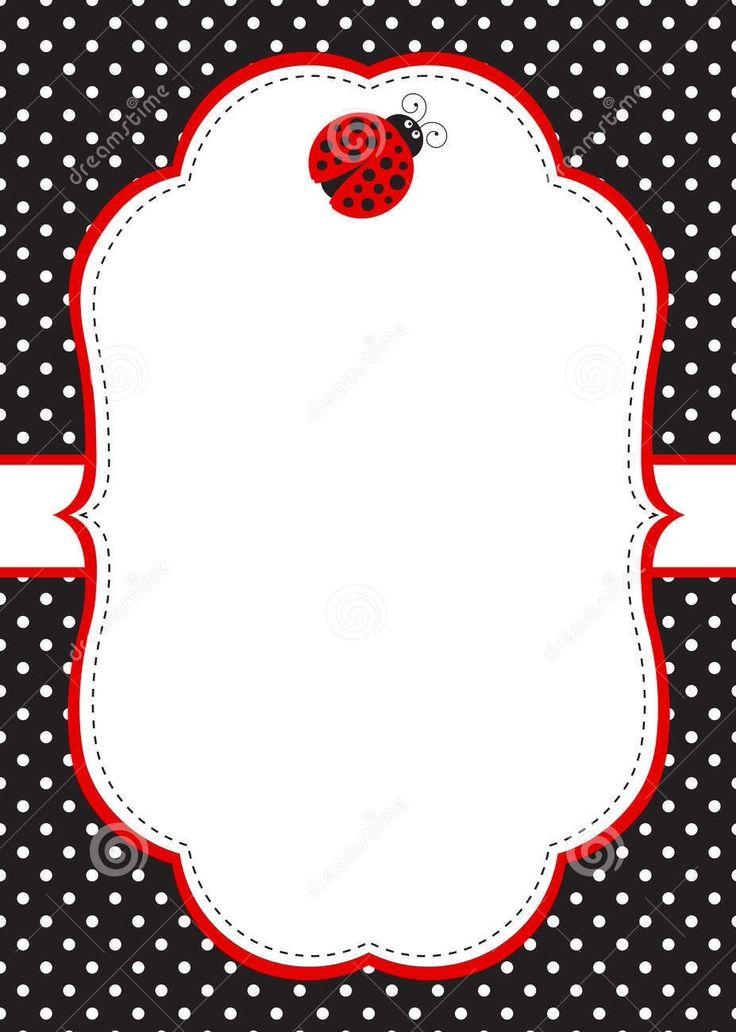 dreamstimecom ladybug frame ladybugs pinterest