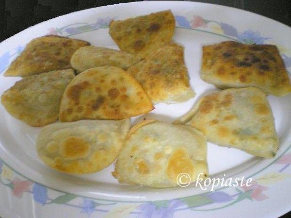 Bourekia with Mushrooms/   Μπουρεκάκια με Μανιτάρια  http://www.kopiaste.info/?p=219