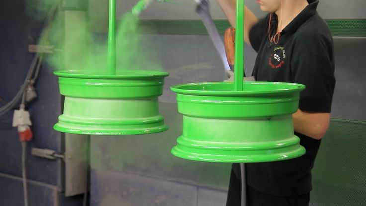 Powder Coating - how rims are being coated / colored