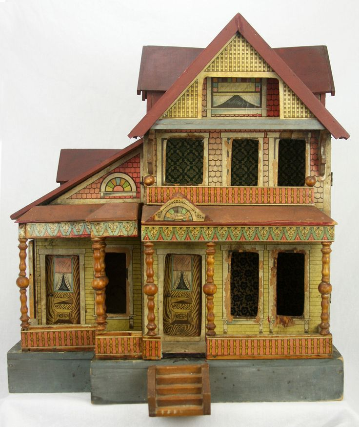 Bliss Dollhouse Wallpaper: 1000+ Images About Antieke Poppenhuizen On Pinterest