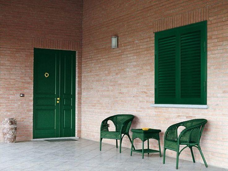 Porta d'ingresso blindata in legno per esterno GOLD by TORTEROLO