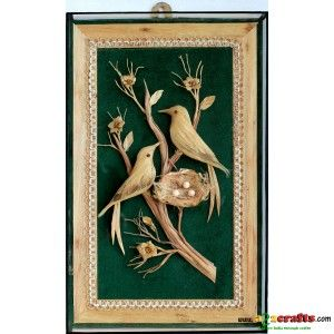 Jute wall hanging - Jute crafts - Rs 785 - Hand Made Crafts - Buy & Sell Indian Handmade Crafts and Handmade Jewelry and Gifts