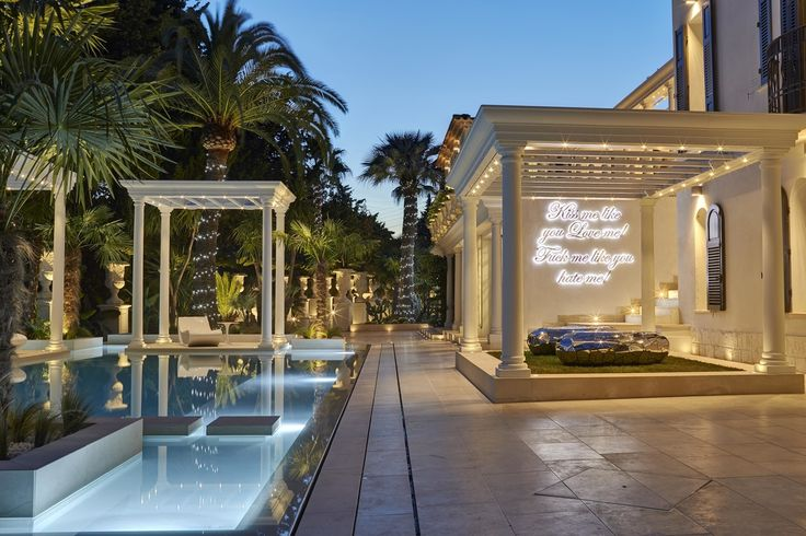 La Jungle du roi, villa de Philipp Plein à Cannes