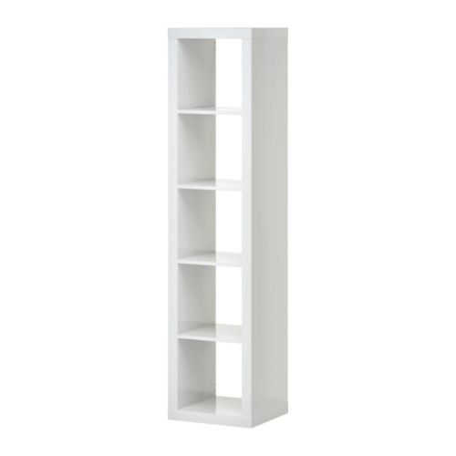 Expedit White Single Display Bookshelf Sideboard in Lincoln Square, Manhattan ~ Apartment Therapy Classifieds