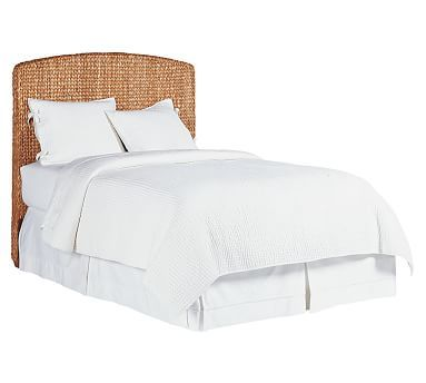 seagrass headboard a head is a very important part of the furniture which is connected to the head or on the bed a head holding a pillow - Seagrass Headboard