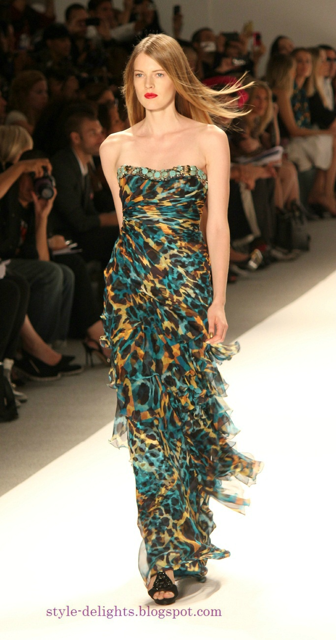 Love the color: Carlos Miele Spring 2013 collection at NYFW