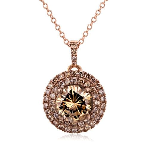 18k-Rose-Gold-Champagne-Double-Halo-Diamond-Pendant-1-7-8-CTW-with-14k-Rose-Gold