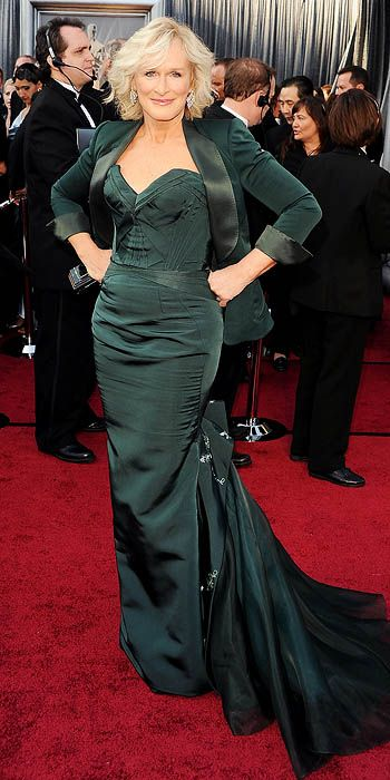 without the blazer: Fashion, Oscars Red Carpets, Zac Posen, Oscars 2012, 2012 Oscars, Dresses, Red Carpets Looks, Academy Awards, Glenn Close