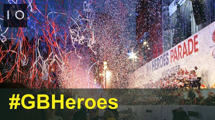 GB Heroes Parade Manchester 17 October