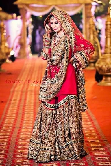 This is one of the most beautiful bridal ghararas I've ever seen!