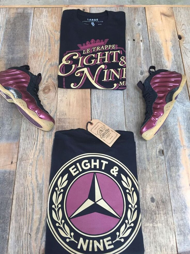 shirts to match maroon foamposite 2016 release
