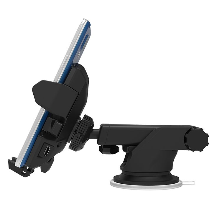 iOttie Easy One Touch Wireless Qi Charger Car Mount Holder for Smartphone
