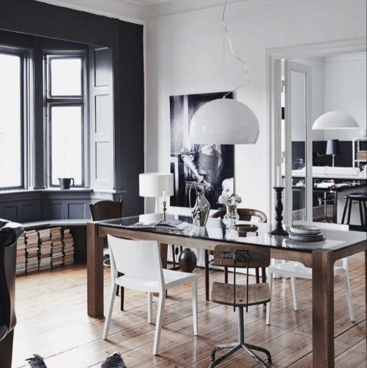 Neutral colour pallet in the dining room | Lene Ostenfeldt