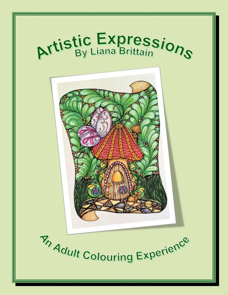 Artistic Expressions - An Adult Colouring Experience - Digital