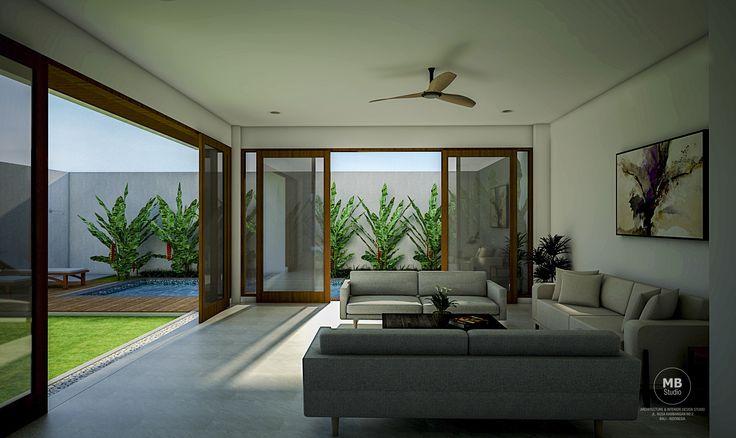 PG VILLA JIMBARAN BALI INDONESIA - LIVING ROOM
