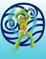 TMNT Avatar Series-Raphael: Fire by *FlashyFashionFraud on deviantART