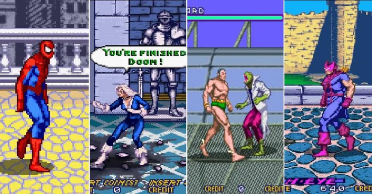 15 Marvel Video Games You Definitely Forgot  article<p>CBR.com<p>http://www.cbr.com/forgotten-marvel-video-games/<p>The most obscure Marvel games that were ever made.  http://www.cbr.com/forgotten-marvel-video-games/
