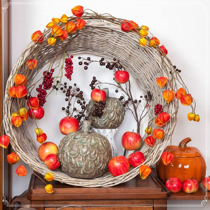 Decorative Apples between powerful warm colours for the best season of the year! Love each moment because life is UNIQUE