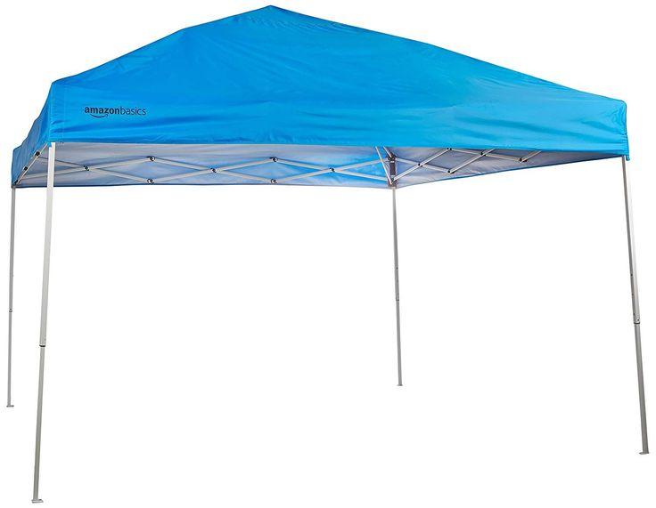 Save 57 Amazonbasics Pop Up Canopy Tent 10 X 10 Ft