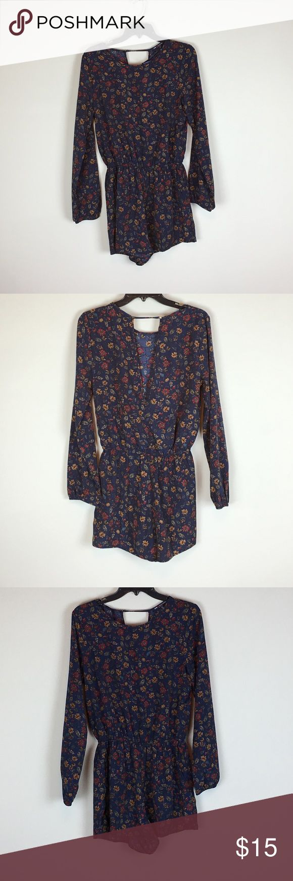 Floral jumper Real floral jumper. Never worn one clothing Dresses