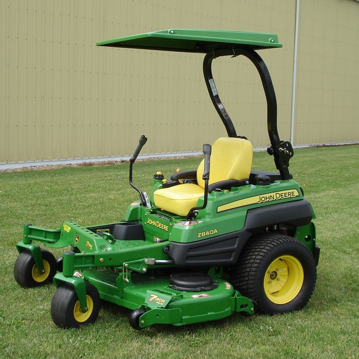 Hardtop ABS Plastic Canopy for Compact Tractor & Mower - Green