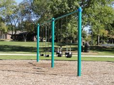Enjoy an afternoon #swinging away at #Gaslight #Park in #Algonquin #Illinois #play #summer #fun #kids #family #activities #free