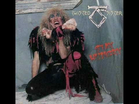 Twisted Sister - Burn in Hell...can't hear this group without thinking back to my favorite roadtrip as a teen ;)