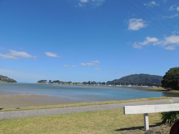 Taken out the window while as a passenger driving through Tairua of Pauanui -- Coromandel -- New Zealand -- 23rd January 2014