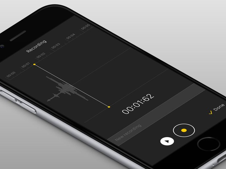 Notes app: voice recording / Frantisek Kusovsky