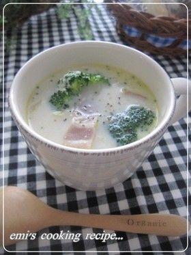 白菜とベーコンのミルクコンソメスープ〜白菜の甘み、ベーコンとバターのコク。粉チーズ入りです。寒い日や朝食にでも・・。ほっとします♡
