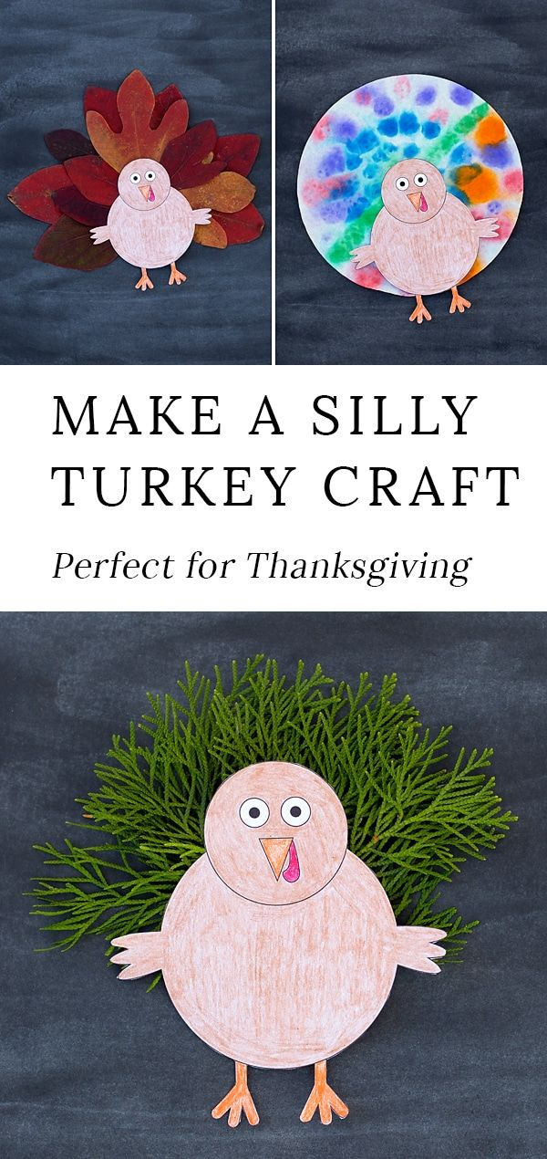 This Easy Diy Turkey Craft Is Perfect For Preschool Kids Will Enjoy Being Creative With Hands Leaves Paper And More As They Create Their Own Cute