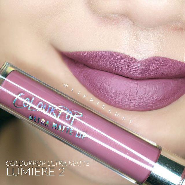 Colourpop Cosmetics Ultra Matte Lip Color :: LUMIERE 2