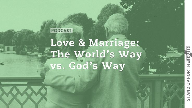 Love and Marriage: the Worlds Way vs Gods Way |  Millions of people celebrate Valentine's Day today and the influences of this world have men and women spending billions of dollars on flowers chocolate romantic dinners and getaways. And the man-made vision of a fat little cherub firing arrows at people inducing love seems to reinforce a faulty belief: that love is something that happens to us without a choice like a chemical reaction or a feeling we just cannot fight.  But what exactly is…