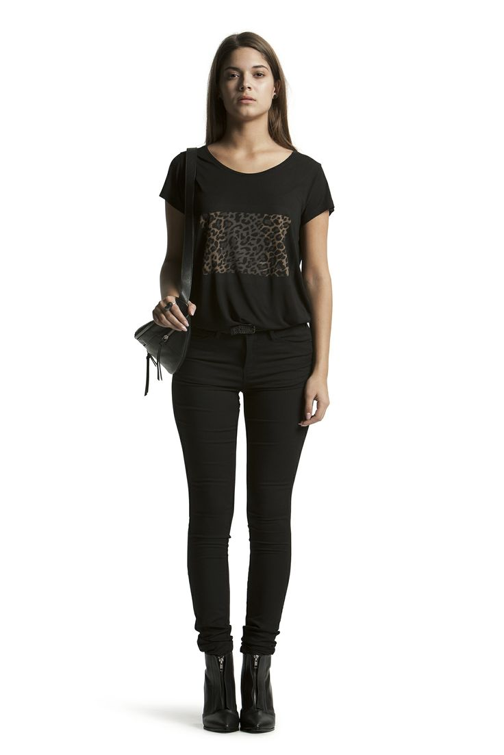 Cynja Tee with Concorde Slim HW Jeans