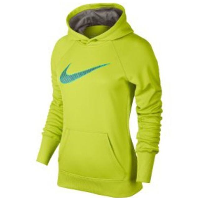 Green Nike sweatshirt