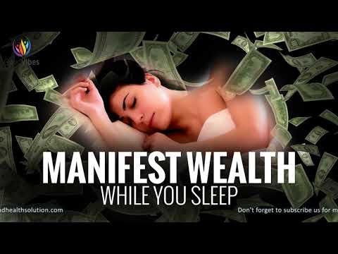Manifest Wealth While You Sleep ♬ Attract Abundance of